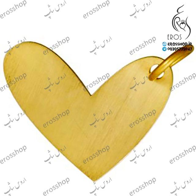 گردن آویز قلب طلا 18 عیار