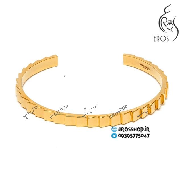 دستبند اسپرت طلایی