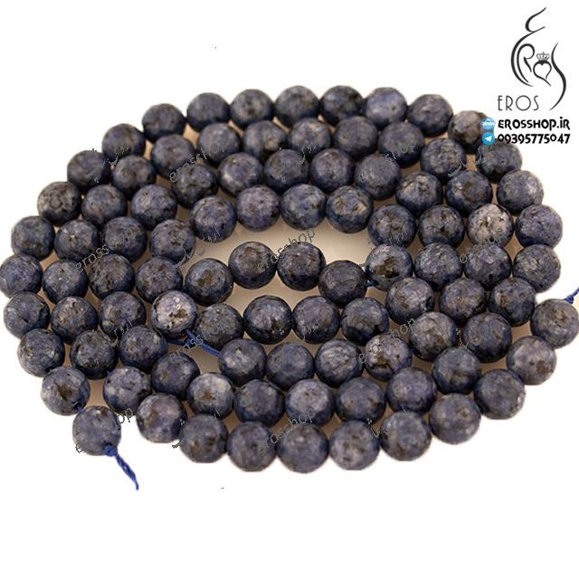 مهره سنگی رنگ طوسی مناسب دستبند و گردنبند