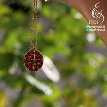 Necklaces Steel pomegranate