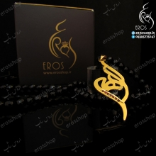 پلاک اسم الهه فارسی همراه با نگین قابل ساخت با نام شما