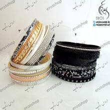 دستبند پهن برند سواروسکی