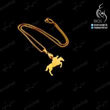 گردنبند با آویز رشته اسب سواری