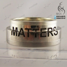 حکاکی Matters بر روی دو انگشتر