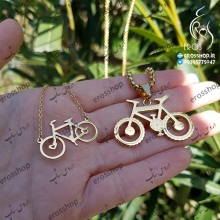 Couples necklace sets sports bike