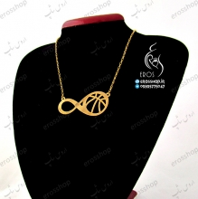 Sports Pendant Volleyball and Basketball ball and Infinite