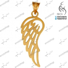 18 carat gold angel wing pendant models