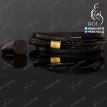 Patek philippe leather bracelet and Vitaly black ring