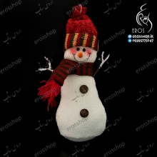 Wall pendant scarf snowman and Christmas tree designs with Sandy
