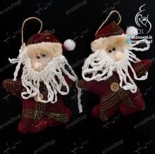 آویز عروسکی کریسمسی طرح بابانوئل