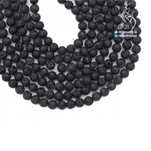 Lava Stone Bead Bracelet necklace single color