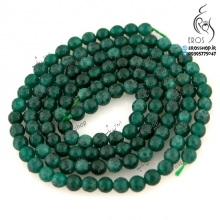 Green stone bead UNIX