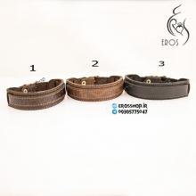 دستبند چرم اسپرت در سه طرح و رنگ