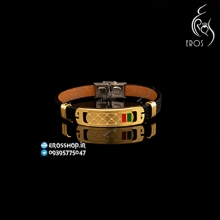 boy leather Sport bracelet Gucci design