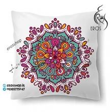 روکش کوسن پارچه ای چاپی ماندلا هندی رنگی