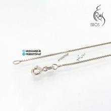 گردنبند زنجیر نقره مدل ونیزی معروف به باکسی یا جعبه ای box