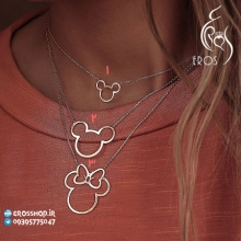 Mickey Mouse pendant necklace
