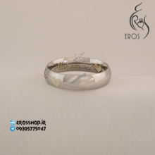 Engraved a ring with sigle name in English and 2 heart