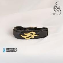 دستبند پلاک اسم لیلا طراحی فونت فارسی
