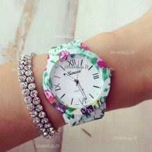 Whit Geneva Flower Watches