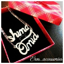 Omid & Shima Silver Necklace