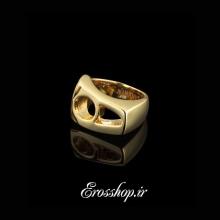 انگشتر استیل طلایی NimaNY
