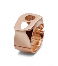 NimaNY steel ring Rose Gold