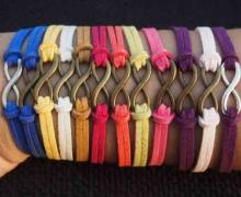 دستبند اینفینیتی با بند جیر