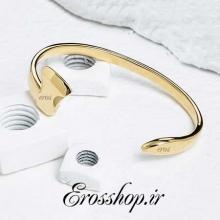 دستبند استیل تبر طلایی