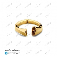 دستبند استیل طلایی نیمانی