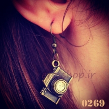 Jeweled earrings camera