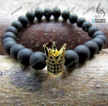 Swarovski gold crown bracelet