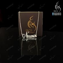 Nazanin nameplate necklace